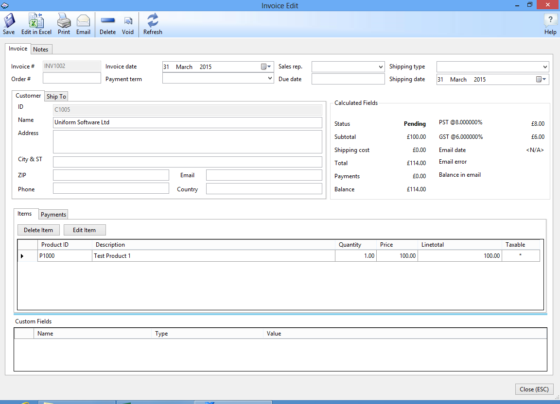 Centralasianshepherdus  Personable Uniform Invoice Software  Excel Invoice Manager With Exciting Editing An Invoice With Extraordinary Advance Cash Receipt Format Also Sample Cash Receipt Voucher In Addition Fake Receipt Maker Free And Student Fee Receipt Format As Well As Tneb Online Payment Receipt Additionally Rent Receipt Uk From Officekitcom With Centralasianshepherdus  Exciting Uniform Invoice Software  Excel Invoice Manager With Extraordinary Editing An Invoice And Personable Advance Cash Receipt Format Also Sample Cash Receipt Voucher In Addition Fake Receipt Maker Free From Officekitcom