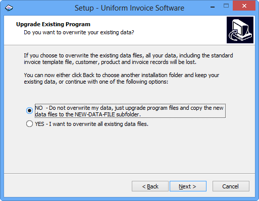 installing and upgrading - uniform invoice software - excel, Invoice examples